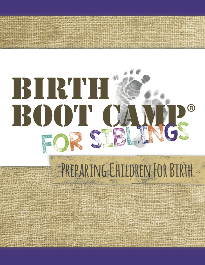 Kid friendly workbook to help prepare older siblings for the birth of the new baby.